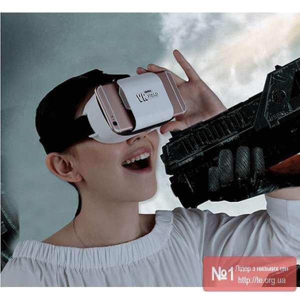 Окуляри віртуальної реальності REMAX 3D Field RT-V02 - Картинка 5. Даний  товар наживо - гарніший ніж на фото e4d9394e0bb38